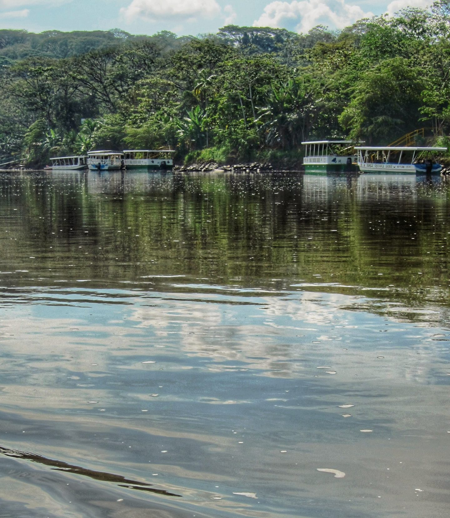 Boats on the Rio Tarcoles, Costa Rica