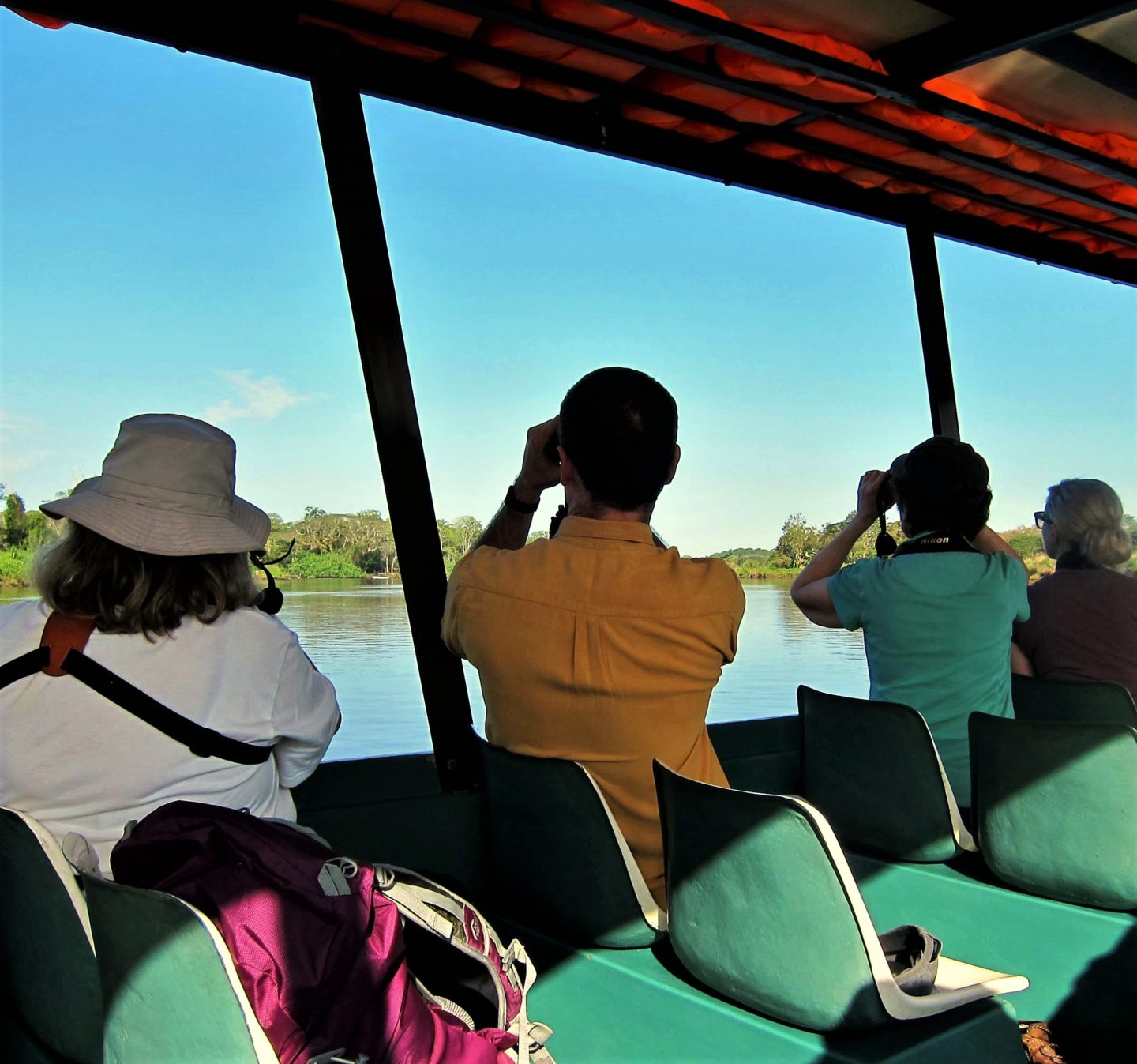 Birdwatchers Rio Tarcoles Costa Rica